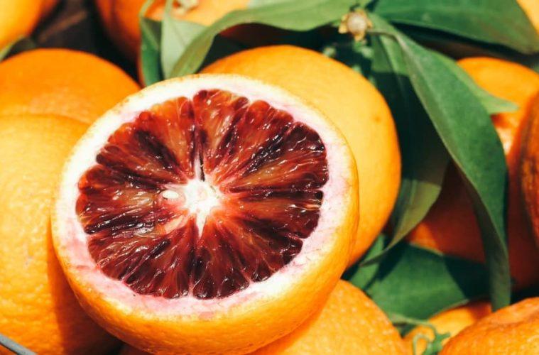 Naranja roja de sicilia