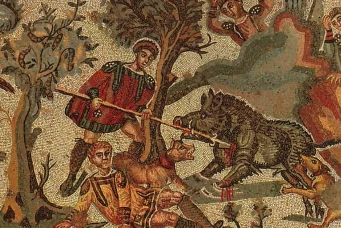 mosaicos pìazza armerina sicilia