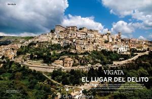 la localidad de Vigata, lugar turístico gracias al Comisario Montalbano