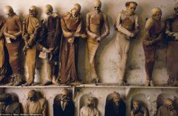 catacumbas de los capuchinos en palermo