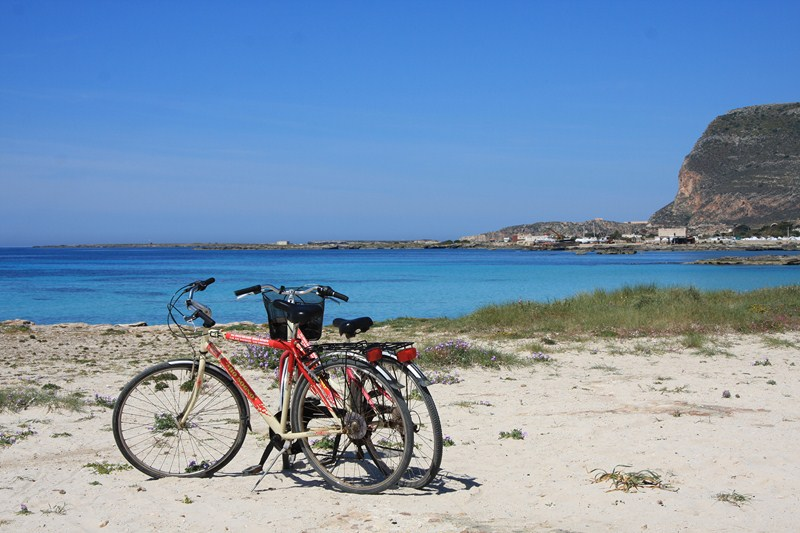 girar sicilia en bici