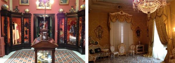 interior del palacio de francavilla