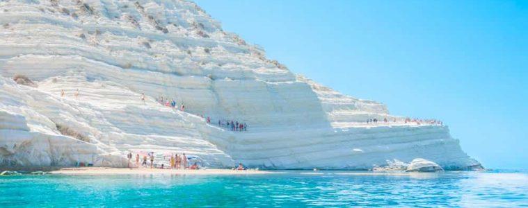 playa scala dei turchi en sicilia