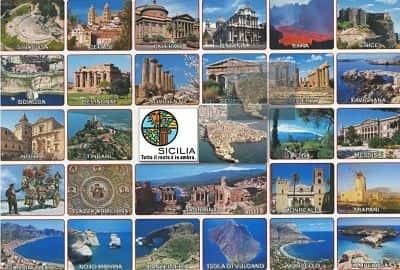 postal de sicilia