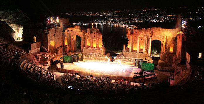 conciertos teatro griego de taormina