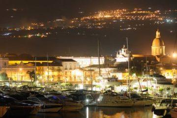 panoramica catania de noche