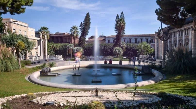 villa bellini de catania
