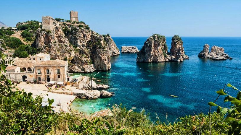 la tonnara scopello trapani sicilia