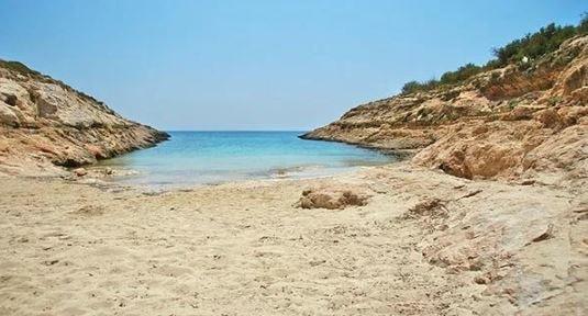 cala greca lampedusa sicilia