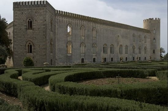 castillo donnafugata ragusa ibla sicilia