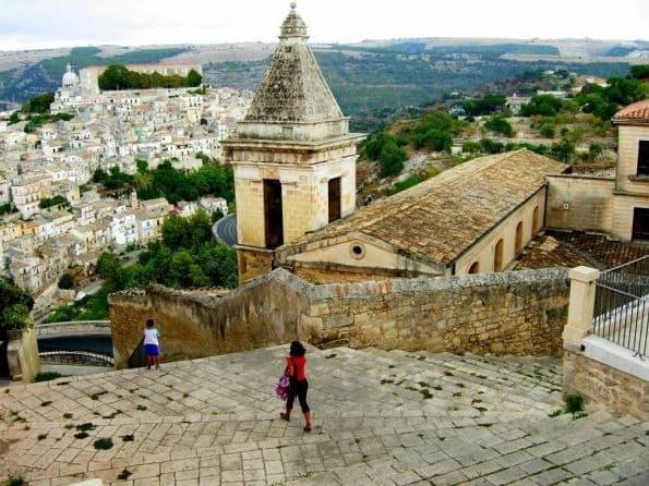 escaleras ragusa ibla sicilia